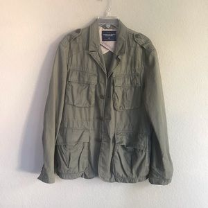American Eagle Army Green Utility Jacket